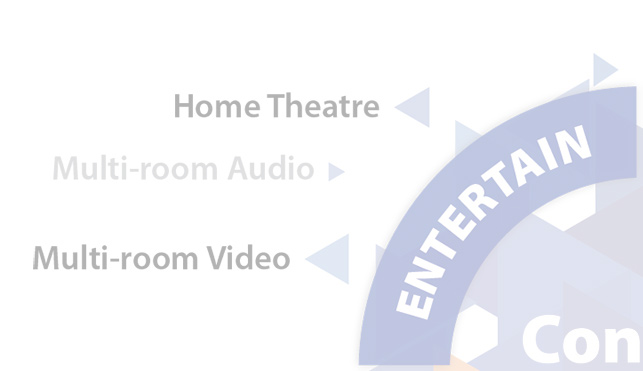 Home Automation - Entertain, Home Theatre, Multi-room Audio and video