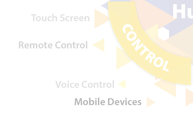 Home Automation - Control, Touch Screen, Remote Control, Voice Control, Mobile Devices